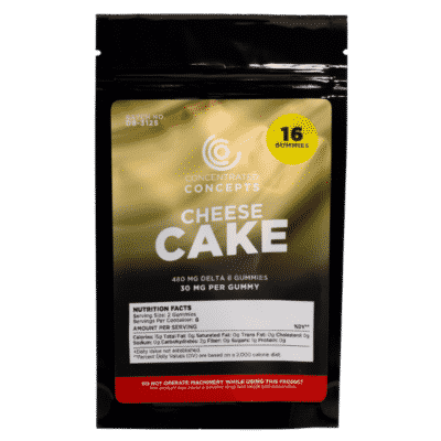 Delta 8 cheesecake gummies