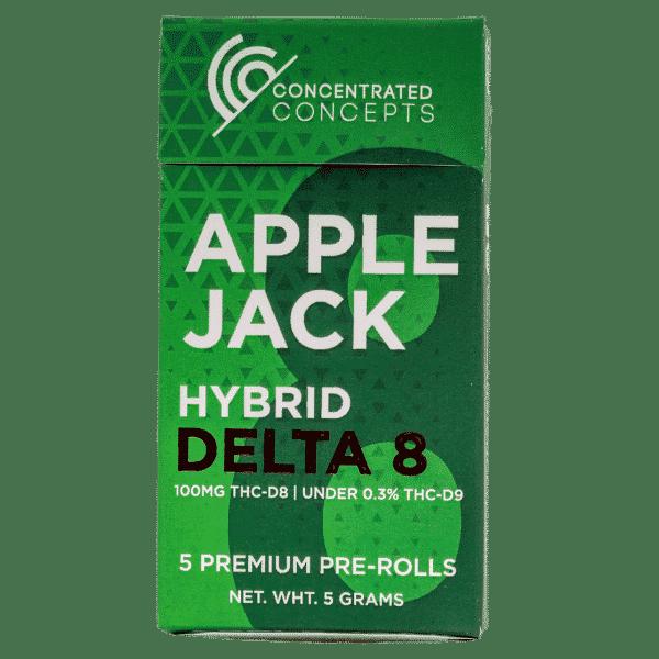 Apple Jack D8 joints